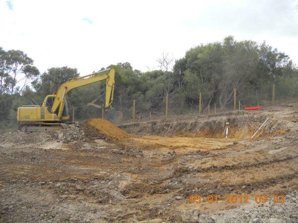 site cut