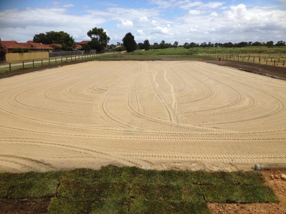 Sand horse arena2